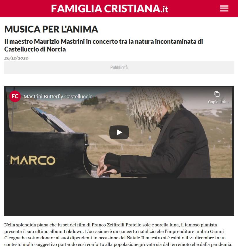 (Italiano) Famiglia Cristiana, 26/12/2020